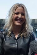 Ellie Goulding AFL Grand Final Press Call on Thursday 1 October 2015.