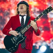 Angus Young AC/DC Etihad Stadium, Rock Or Bust World Tour. Photo by Ros O'Gorman