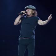 Brian Johnson AC/DC Etihad Stadium, Rock Or Bust World Tour. Photo by Ros O'Gorman