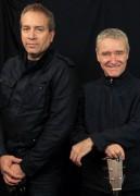 Peter and Maz, Boom Crash Opera. Photo by Ros O'Gorman