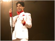 Prince at Rod Laver Arena in Melbourne on 21 October 2003. Photo by Ros O'Gorman http:://www.noise11.com