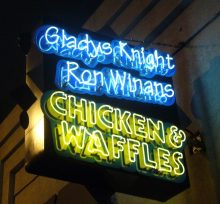 Gladys Knight Chicken and Waffles