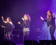 The Chantoozies at Pure Gold Live 2015. Photo by Ros O'Gorman http://www.noise11.com