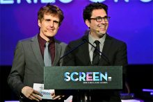Screen Music Awards Chris Taylor and Andrew Hansen