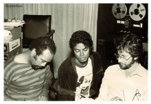 Quincy Jones Michael Jackson Rod Temperton