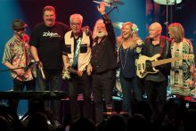 Brian Cadd and the Bootleg Family Band perform at Palms Melbourne on Friday 18 November 2016. Photo by Ros O'Gorman