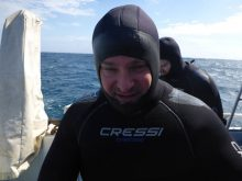 David Draiman shark diving