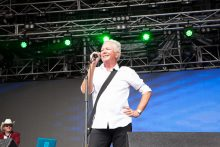 One Electric Day at Werribee Mansion on Sunday 27 November 2016 with Russell Morris, Icehouse, James Reyne, Jimmy Barnes.