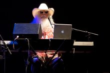 Leon Russell performs at the Palais in St Kilda on 25 April 2011. Photo by Ros O'Gorman