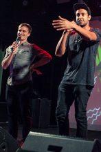 Matt and Alex J Awards. Photo Ros O'Gorman