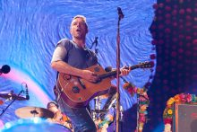 Coldplay perform at Etihad Stadium in Melbourne on Friday 9 December 2016. Photo by Ros O'Gorman