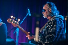 Concert for Hanna, benefit for Ross Hannaford at Memo St Kilda on 19 July 2015. Photo by Ros O'Gorman