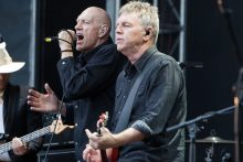 Peter Garrett and the Alter Egos perform at the Zoo Twilights Series Melbourne Zoo on Saturday 28 January 2017.