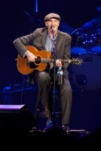 James Taylor performs with his All Star Band in Melbourne at Rod Laver Arena on Wednesday 8 February 2017. Ros OGorman