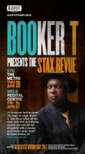 Booker T Jones Australian tour 2017