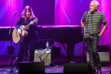 Rickie Lee Jones and Daryl Braithwaite. Photo Ros OGorman