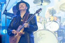 Carlos Santana, Santana, Rod Laver Arena on Wednesday 11 April 2017. Photo by Ros O'Gorman