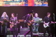 The Doobie Brothers play Rod Laver Arena on Wednesday 11 April 2017. Photo by Ros O'Gorman