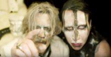 Marilyn Manson and Johnny Depp