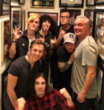 The Faim with Mark Hoppus and Josh Dunn