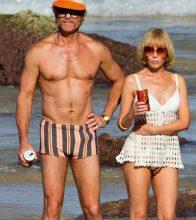 Guy Pearce and Kylie Minogue in Swinging Safari