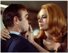 Sean Connery and Karin Dor in You Only Live Twice