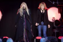 Chrissie Hynde joins Stevie Nicks ADOTG at Rochford Winery on Saturday 18 November 2017. Photo by Ros O'Gorman