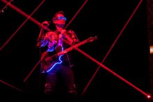 Muse perform at Rod Laver Arena in Melbourne on Monday 18 December 2017. Photo by Ros O'Gorman