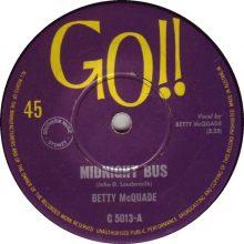 Betty McQuade Midnight Bus