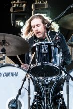 Kram Spiderbait ADOTG at Mt Duneed Winery near Geelong featuring The Fauves, Tumbleweed, The Lemondheads, Veruca Salt, Spiderbait, The Living End. Photo by Ros O'Gorman