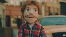 Puppet Ed Sheeran