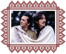 Ravi Shankar and George Harrison