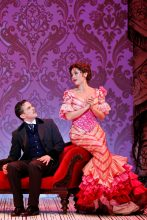 Chris Ryan, Alinta Chidzey in A Gentleman's Guide To Love and Murder