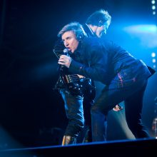 Duran Duran in Austin Texas photo by Ros O'Gorman