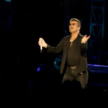 George Michael photo by Ros OGorman