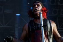 Rammstein at Big Day Out Melbourne 2011 photo by Ros O'Gorman