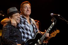 Garland Jeffreys and Bruce Springsteen photo by Ros O'Gorman