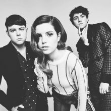 Echosmith with Graham Sierota on the left