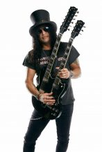 Slash, pictured with his 1966 EDS-1275 Doubleneck