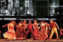 Kurt Kansley in Ragtime from The Production Company