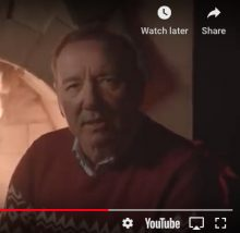 Kevin Spacey 2019 Kill Them With Kindness video