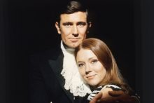 Diana Rigg and George Lazenby in On Her Majestys Secret Service