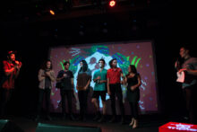 King Gizzard and the Lizard Wizard at the J Awards at Howler on Thursday 17 November 2016.