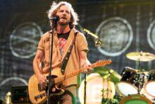 Eddie Vedder of Pearl Jam photo by Ros O'Gorman