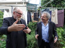 Ed Kuepper and Jim White photo by Anna White