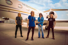 Rock Band The Dead Daisies announce their LIKE NO OTHER tour of the United States (from left to right) - David Lowy (Mink and Red Phoenix), Glenn Hughes (Deep Purple, Black Country Communion), Tommy Clufetos (Black Sabbath, Ozzy Osbourne) and Doug Aldrich (Whitesnake, Dio).