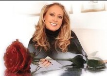 Baccara singer Maria Mediola photo from Baccara Facebook