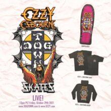 Ozzy Osbourne skateboard