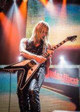 Richie Faulkner of Judas Priest (supplied)